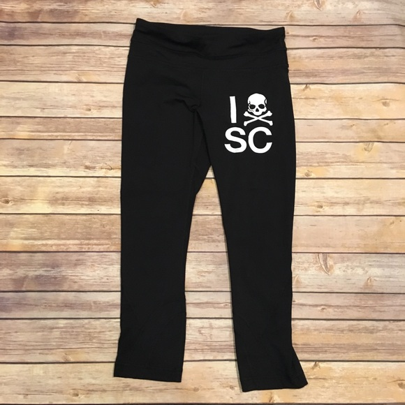 lululemon athletica Pants - Lululemon Soul Cycle Inspire Crop in Black, Size 4
